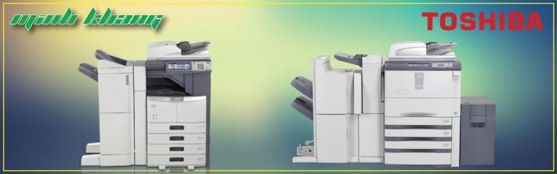[Đánh Giá] Giới Thiệu Máy Photocopy (đã qua sử dụng) Toshiba eStudio 283 / 355 / 455 / 755 / 855