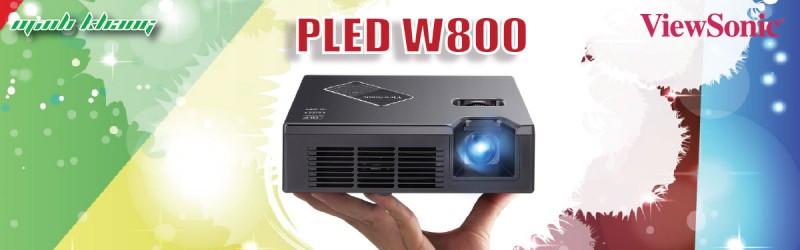 [Giới Thiệu] Máy chiếu ViewSonic Mini PLED W800