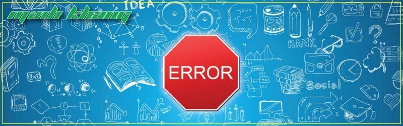 [Tài Liệu] Một Số Mã Lỗi (Error Code) Thông Dụng & Cách Khắc Phục Trên Máy Photocopy