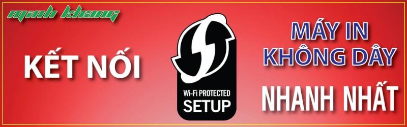 Cách kết nối wifi cho máy in nhanh nhất bằng WPS