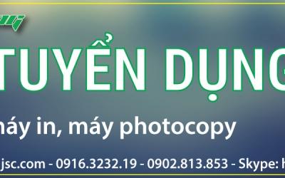 Tuyển dụng kỹ thuật máy in, máy photocopy TPHCM