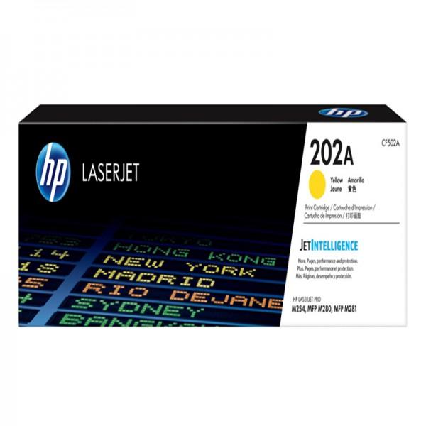 Hộp Mực màu vàng HP M281fdw - HP 202a giá rẻ hcm