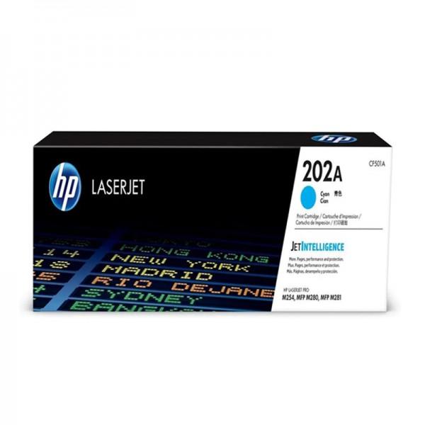 Hộp Mực màu xanh HP M281fdw - HP 202a giá rẻ hcm