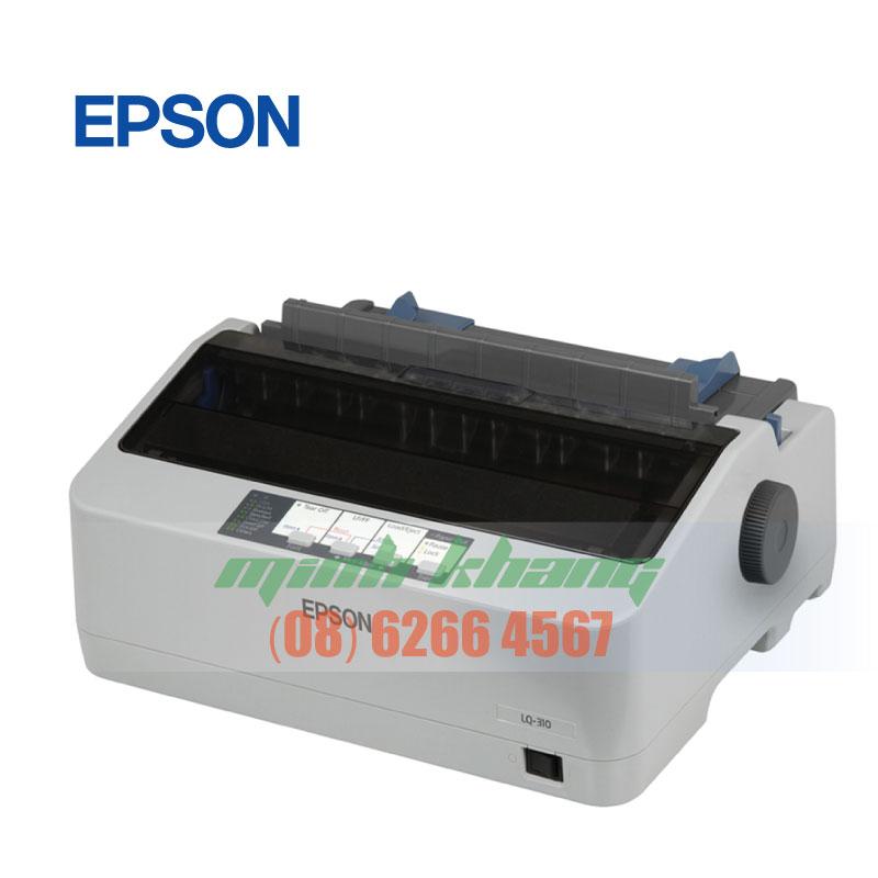 Máy in hóa đơn, in 3 liên, in kim Epson LQ310 chính hãng hcm | Minh Khang JSC