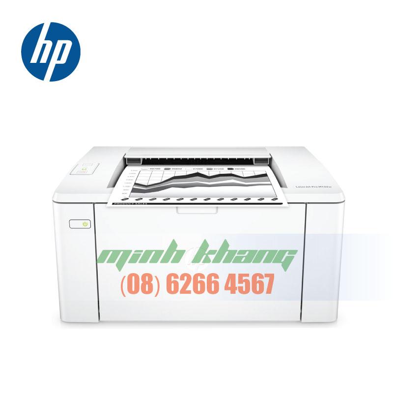 Máy in cá nhân, văn phòng không dây HP M102w giá rẻ | Minh Khang JSC