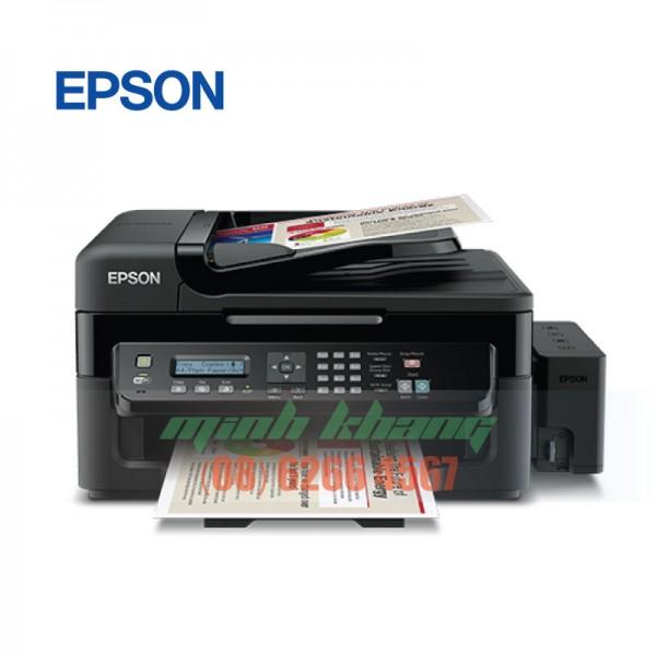 Máy In Phun Đa Năng Epson L555