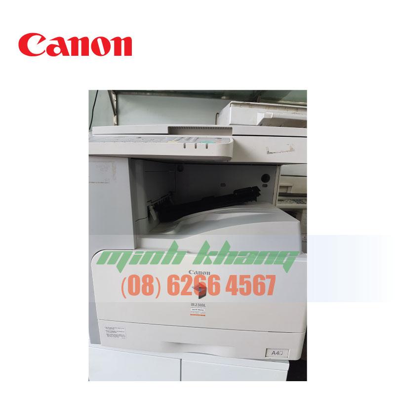 Máy photocopy cũ giá rẻ Canon 2318L cho văn phòng nhỏ | Minh Khang JSC