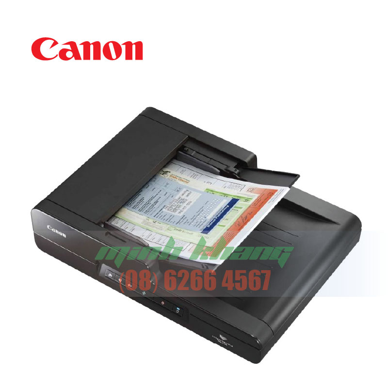 Máy scan 2 mặt tự động Canon DR F120 giá tốt TPHCM   Minh Khang JSC